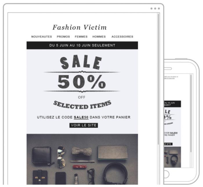 نمونه کمپین های ایمیل مارکتینگ برای افزایش فروش