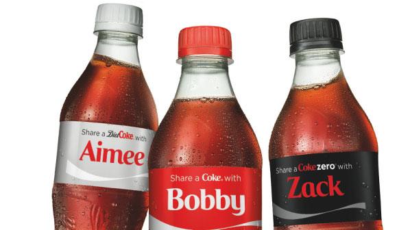 کوکاکولا - شخصی سازی تجارت الکترونیک