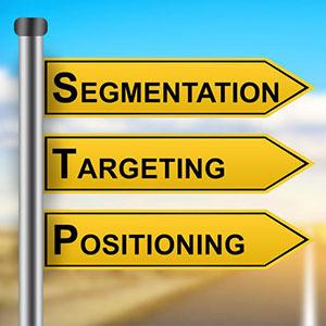 معرفی مدل بخش بندی، هدفگذاری و جایگاه یابی محصول ( STP )