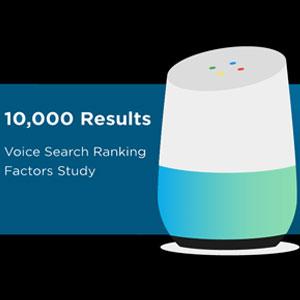 فرمول بهینه سازی جست و جوی صوتی با بررسی 10000 جست و جوی صوتی گوگل