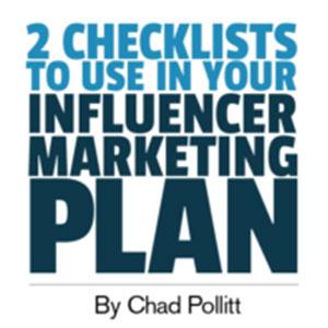 ۲ چک لیست ترکیب اینفلوئنسر مارکتینگ و بازاریابی محتوایی