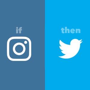 ارسال خودکار تصاویر اینستاگرام به توییتر بدون حذف عکس
