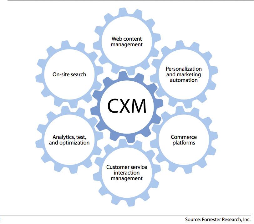 تجربه مشتری cx - cxm