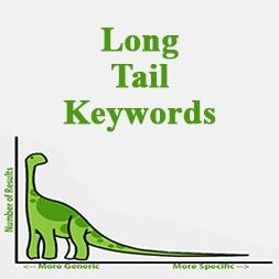 کلمات کلیدی دم دراز (Long Tail Keywords) چیست؟