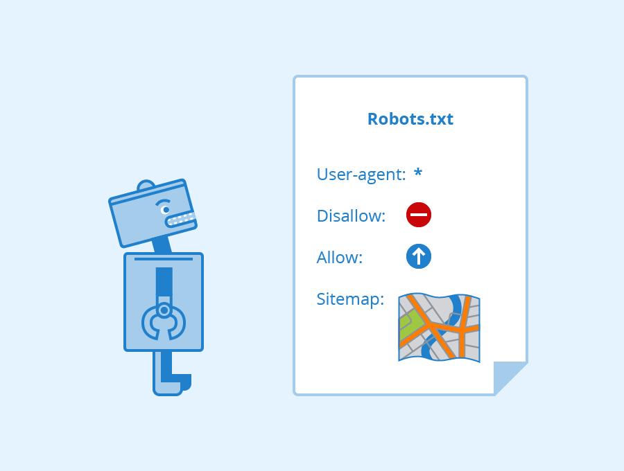 دستورات کلی robot.txt
